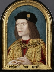 The earliest surviving portrait of King Richard III.